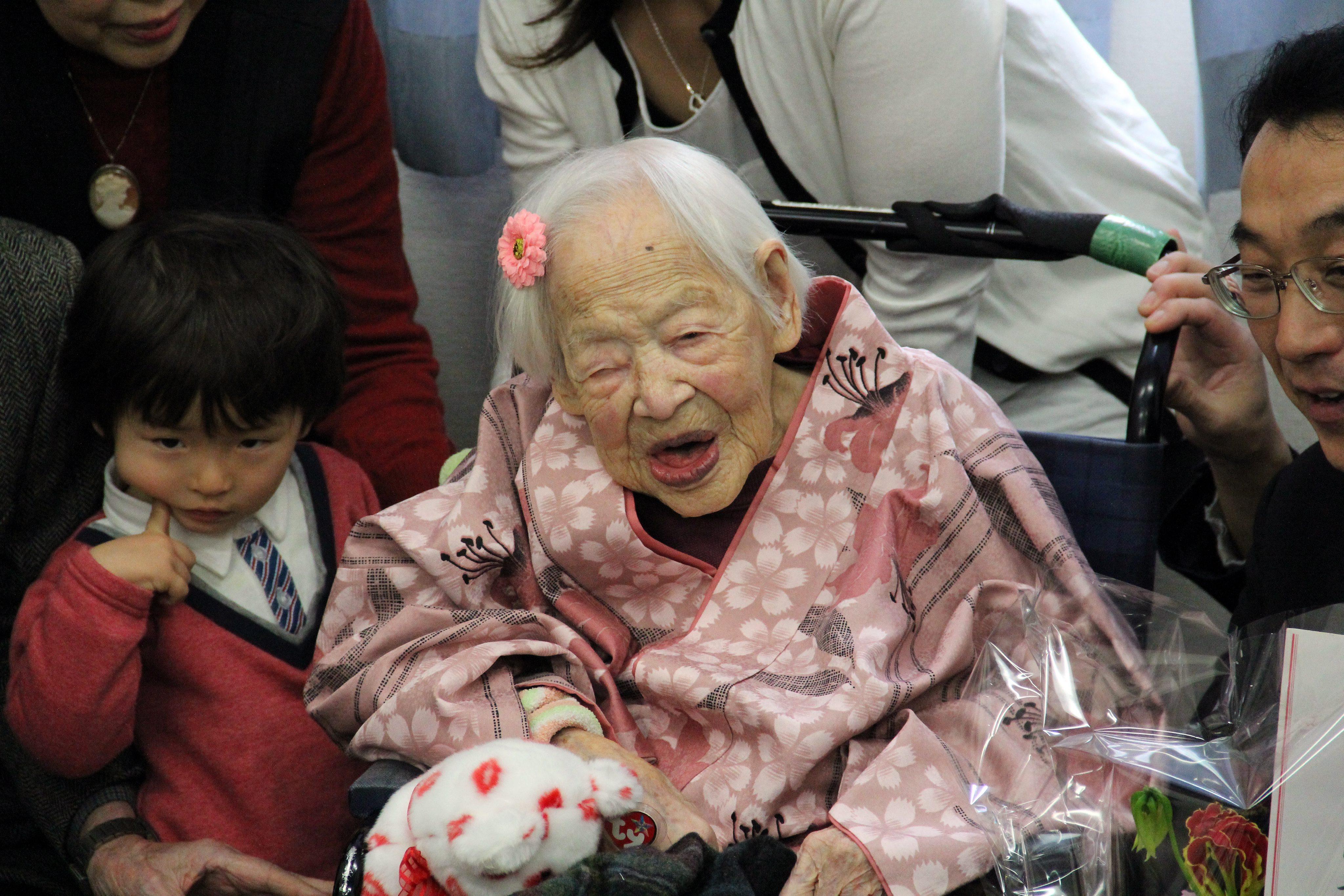 Nejstarší žena světa oslavila 117. narozeniny