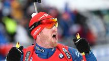 Šlesingr krůček od medaile, ve stíhacím závodě dojel čtvrtý