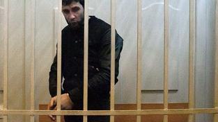 Zaur Dadajev, jeden ze zatčených, který se přiznal k podílu na vraždě Němcova