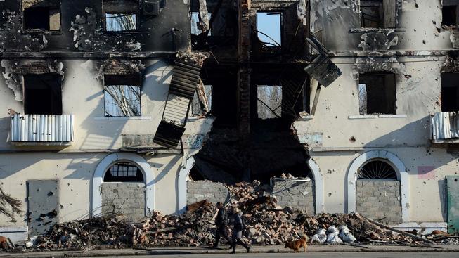 Východ Ukrajiny se bude z války vzpamatovávat hodně dlouho