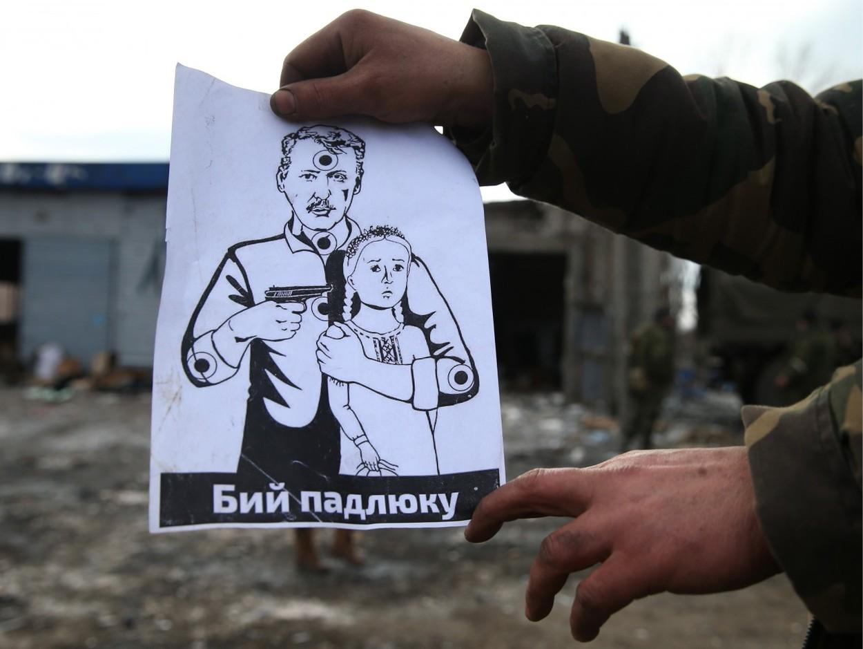 Komentář: Válečné hovory z Donbasu: Propaganda jako zbraň