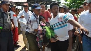 Trajekt se potopil u pobřeží Barmy