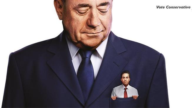 Ed Miliband v kapse Alexe Salmonda