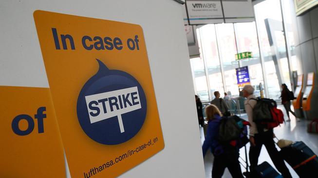 Stávky kvůli předčasným důchodům jsou u Lufthansy v posledních měsících běžné