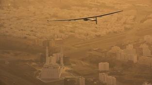 Solar Impuls nad Abú Dhábí