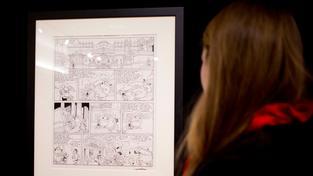 Výtěžek z prodeje nákresu komiksu pomůže rodinám obětí útoku na Charlie Hebdo