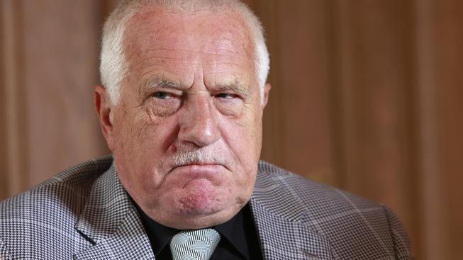 Václav Klaus ještě pořád umí vzbudit rozruch