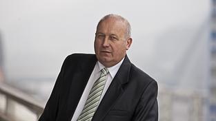 Hejtman Ústeckého kraje a budoucí starosta Bíliny Oldřich Bubeníček