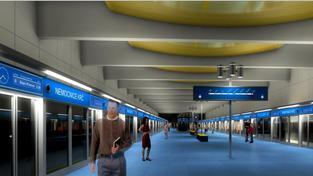 Návrh stanice Nemocnice Krč