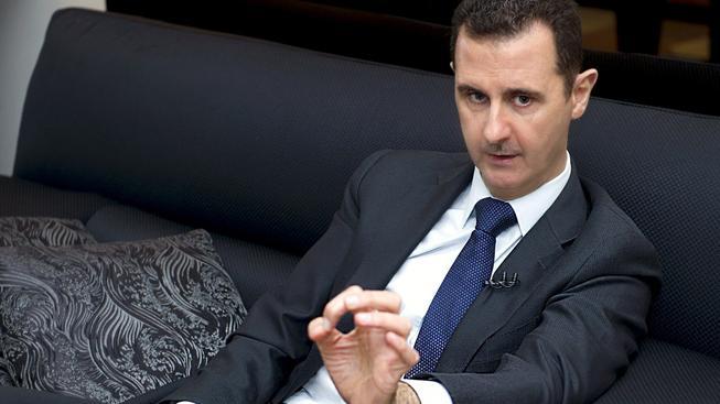 Syrský prezident Asad