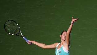 Karolína Plíšková postoupila do osmifinále