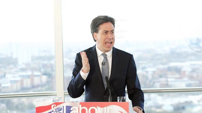 Lídr labouristů Ed Miliband