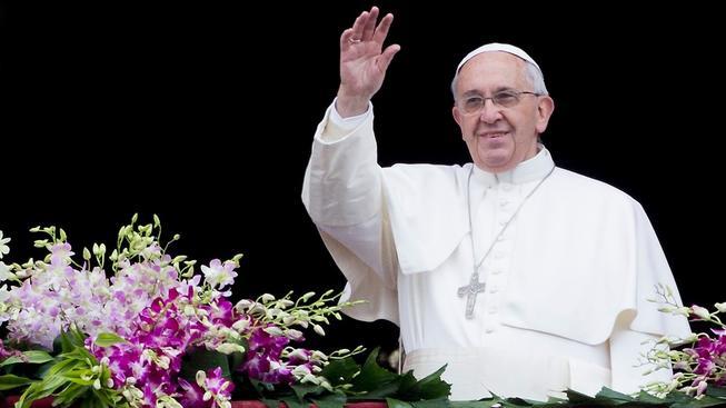 Papež František ve svém tradičním velikonočním poselství žádal mír