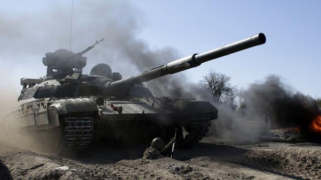 Z fronty na východě Ukrajiny by měly zmizet nově i tanky