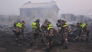 Požár se rozšířil už i do Vnitřního Mongolska, které patří k Číně