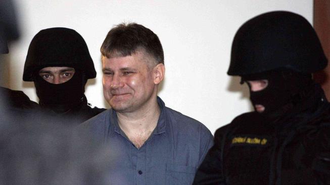 Doživotně odsouzený Jiří Kajínek
