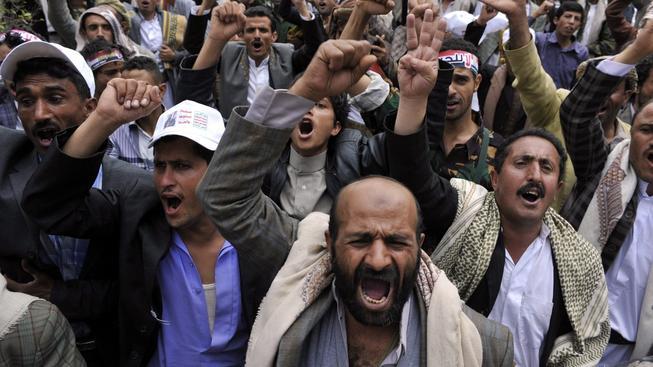 Protesty šíitů v jemenském Saná