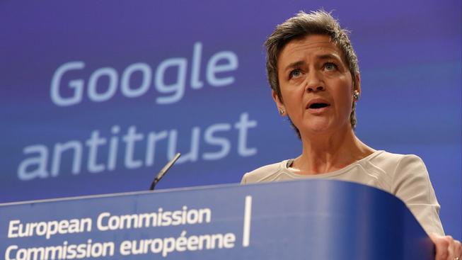 Eurokomisařka Margrethe Vestagerová potvrdila nové vyšetřování firmy Google