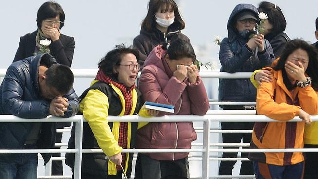Výročí tragické nehody Sewolu vzbuzuje stále spoustu emocí