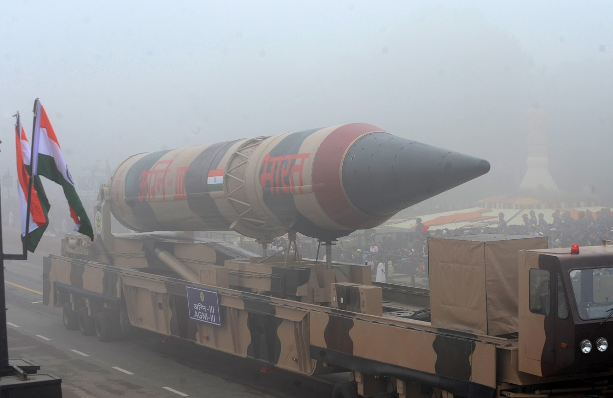 Indie úspěšně vyzkoušela raketu, která unese jadernou hlavici