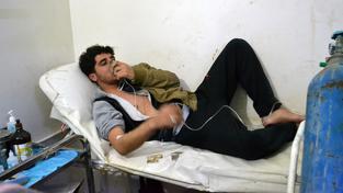 Město Sarmín se 16. března stalo cílem chemického útoku bojovým chlorem