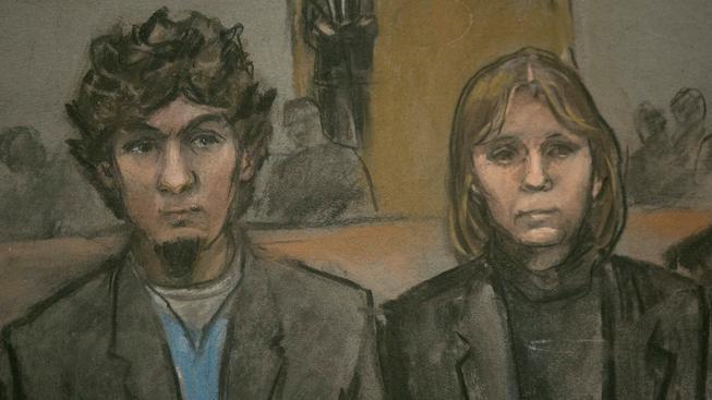 Porota uznala Džochara Carnajeva vinným ve všech bodech obžaloby
