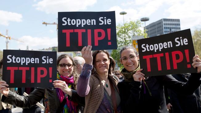 Největší protesty proti TTIP byly v Německu