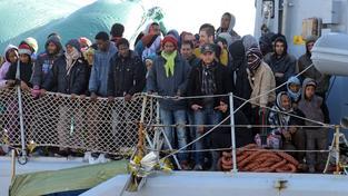 Zachránění uprchlíci ze sobotní potopené lodi