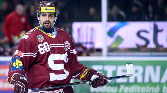 Kapitán hokejové Sparty Tomáš Rolinek