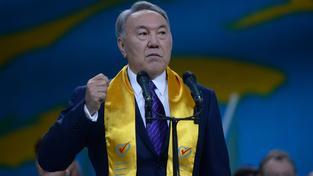 Prezident Nursultan Nazarbajev je u moci od roku 1991