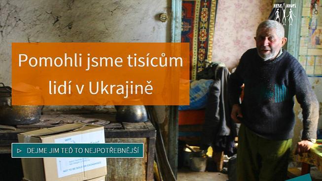Chléb pro Charkov, kampaň neziskové organizace Nesehnutí