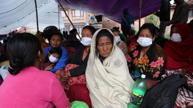 Lidé mají strach, že se ničivé zemětřesení vrátí