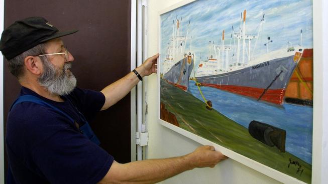Bývalý námořník a plzeňský galerista Jožka Osoba