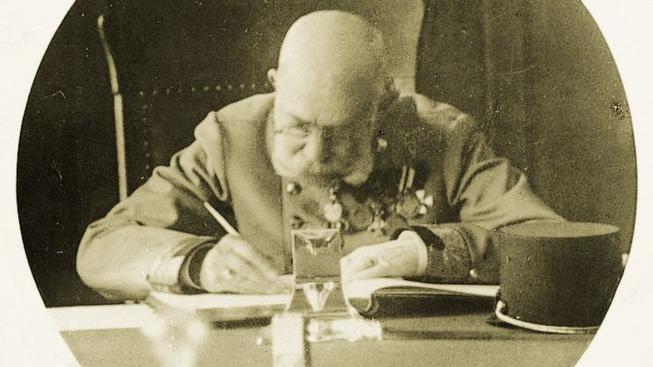 Císař František Josef I neměnil své každodenní zvyky ani v Bad Ischlu