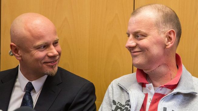 Polští lékaři transplantovali 37letému Michalovi krk
