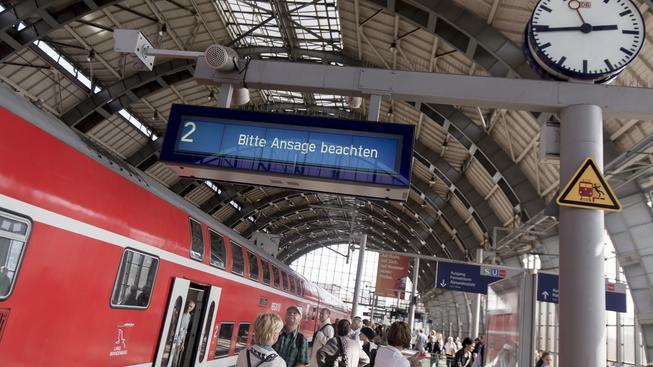 Strojvůdci Deutsche Bahn drží až do neděle obří stávku (ilustrační snímek)