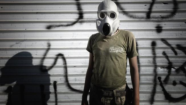 Syrská opozice dlouho upozorňuje na to, že Bašárův  režim má chemické zbraně