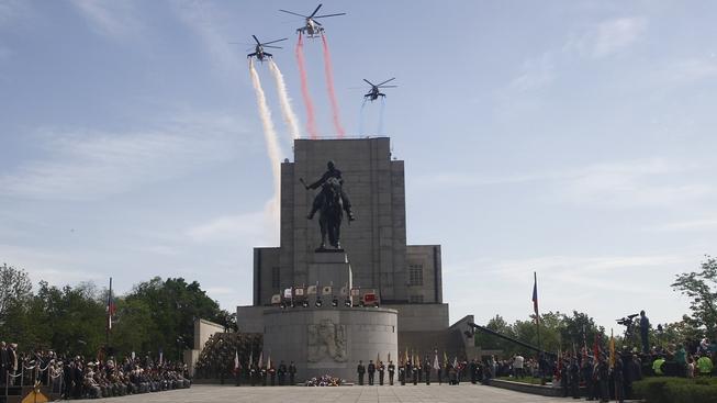 Na Vítkově se konala tradiční slavnost na počest Dne vítězství