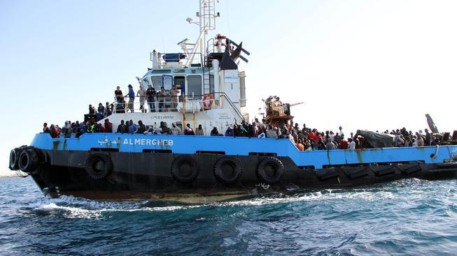 Evropská unie chce ničit lodě převaděčů ještě před tím, než stihnou nabrat uprchlíky