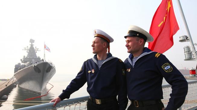 Pro ruské námořníky je společné cvičení příležitostí, jak se potkat se svými čínskými kolegy