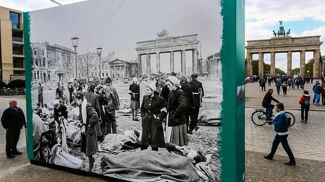 Berlín si připomínal 70 let od konce druhé světové