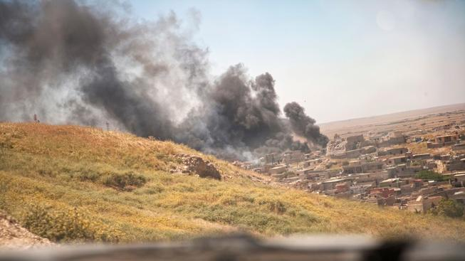 Při náletech v Iráku zemřel druhý nejmocnější muž IS (ilustrační snímek)