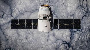 CRS-5 Dragon na orbitě