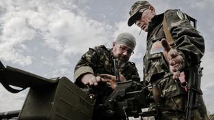 Dvojici ruských vojáků prý zajali členové dobrovolnické jednotky Ajdar