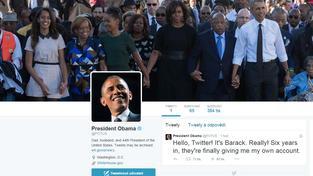 Americký prezident Barack Obama si založil vlastní účet na Twitteru
