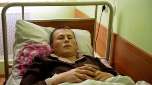 Jeden z ruských vojáků Alexandr Alexandrov, zajatý na Ukrajině