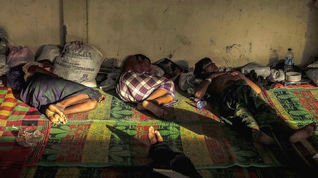 Rohingyjší uprchlíci v Indonésii