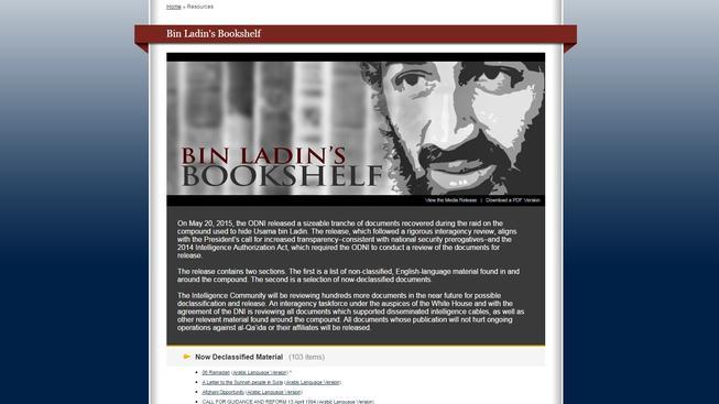 Americké zpravodajské služby zveřejnily část bin Ladinova archivu