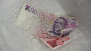 Trestná má být i příprava praní špinavých peněz (ilustrační snímek)