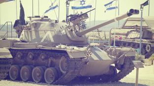 Ilustrační snímek: Tanky izraelské armády